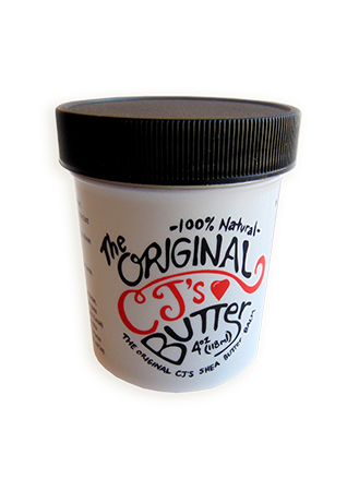 CJ's BUTTer Shea Butter Balm 4 oz. Jar