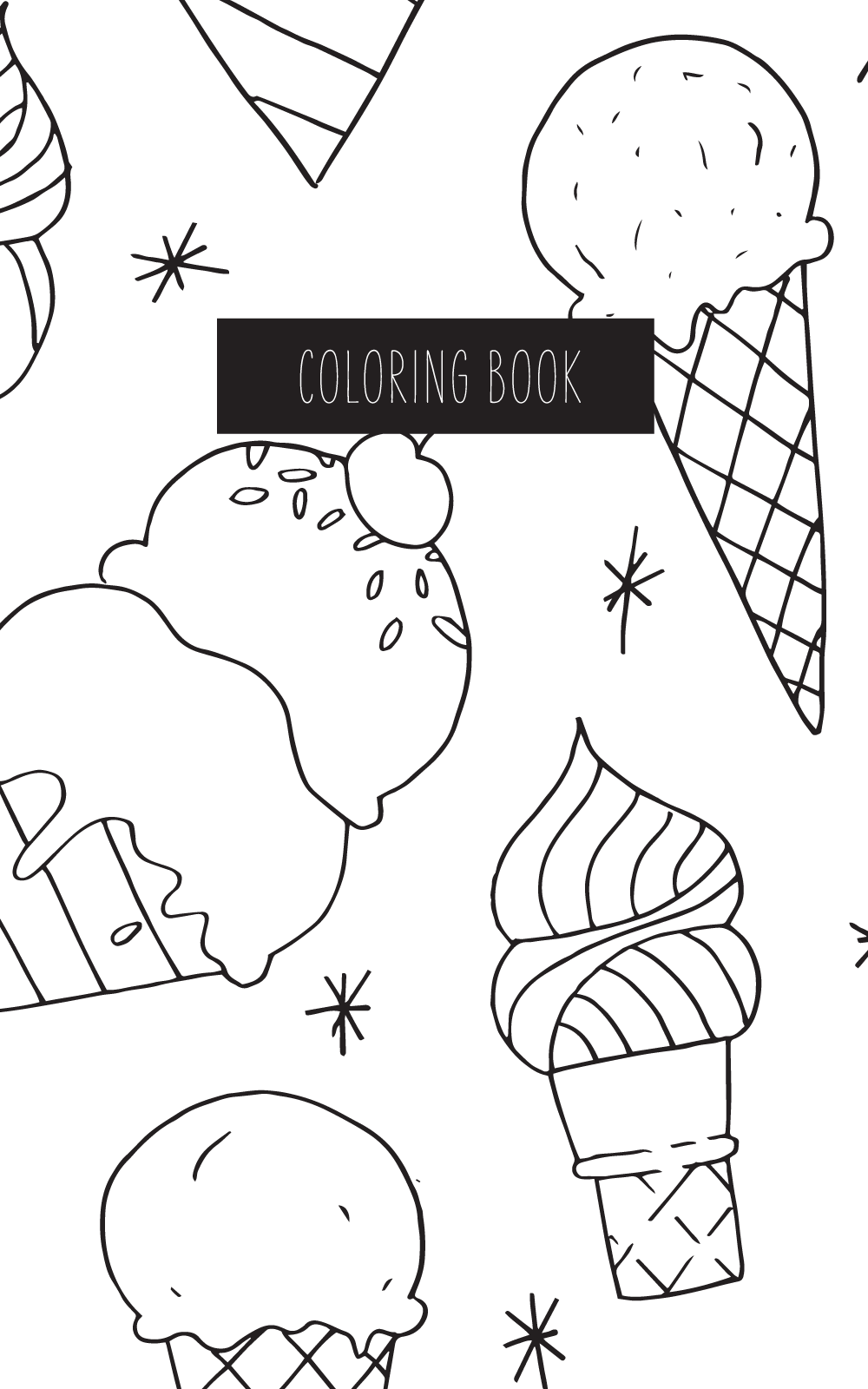 May Designs Kids Coloring Notebook