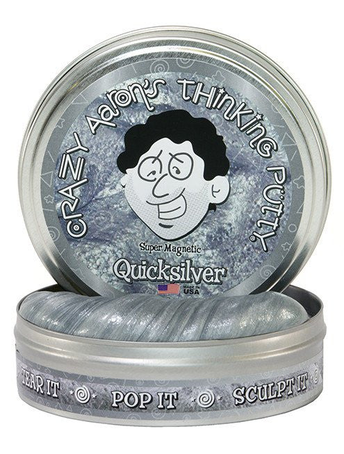 Crazy Aaron's Quicksilver Super Magnetic Thinking Putty