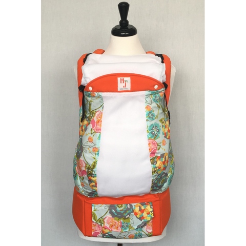 MJ Carriers Citrus Blooms on Fresh Mesh Toddler - Lil Tulips