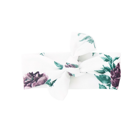 Classic Floral Bow