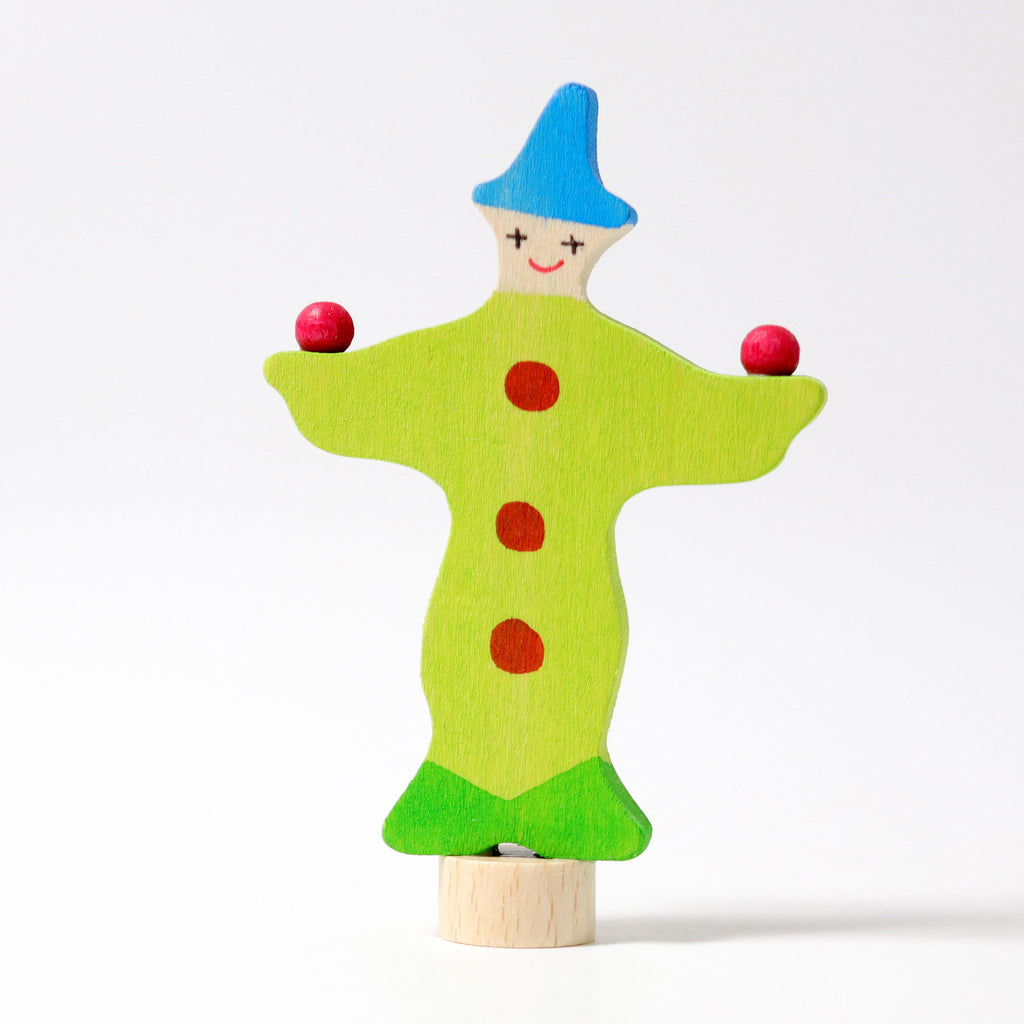 Decorative Figure Juggling-Clown