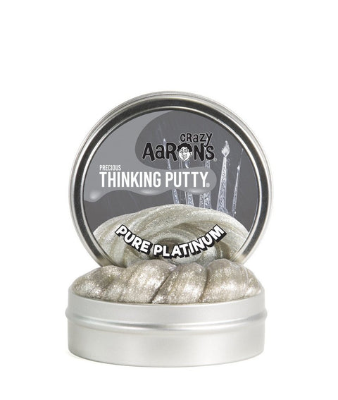 Precious Pure Platinum Thinking Putty
