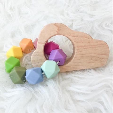 Feltman & Co Cloud Teether - Lil Tulips