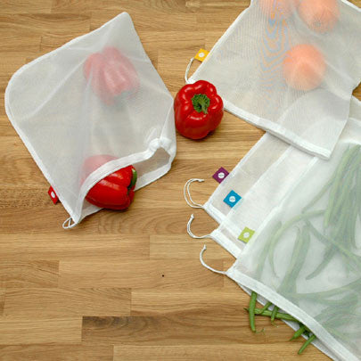 Flip & Tumble Reusable produce bags [set of 5] - Lil Tulips - 1