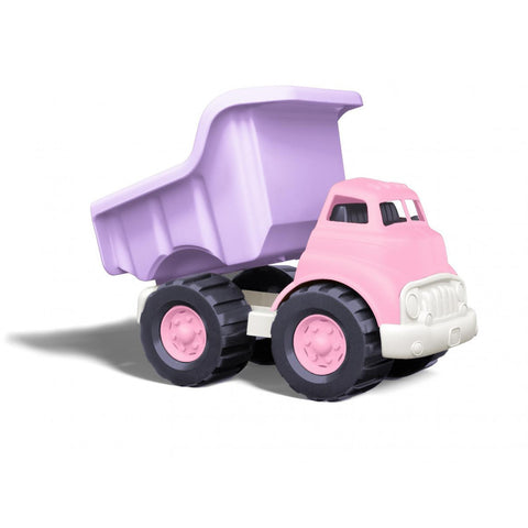 Green Toys Pink Dump Truck - Lil Tulips - 1