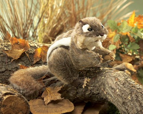 Eastern Chipmunk Puppet
