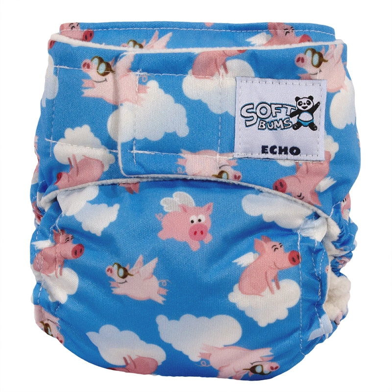 SoftBums Echo Cloth Diaper [Shell Only]