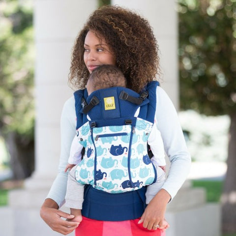 Lillebaby All Seasons Baby Carrier Elephant Party