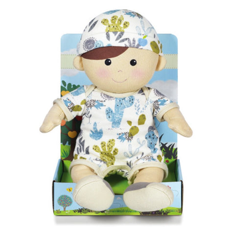 Cactus Print Toddler Doll - ENZO