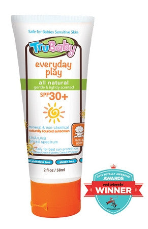 EVERYDAY PLAY SPF 30+ MINERAL SUNSCREEN 2OZ TUBE