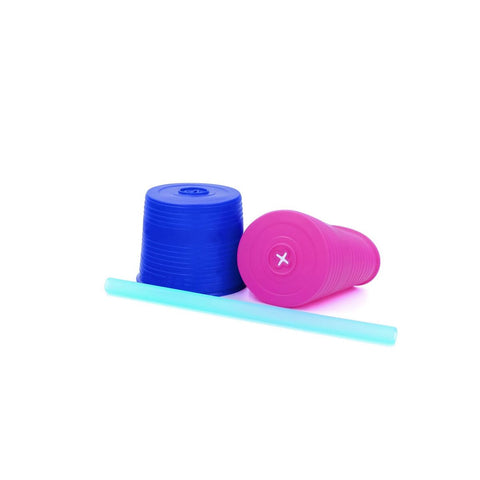 Universal Straw Tops (Sea/Cobalt/Berry)