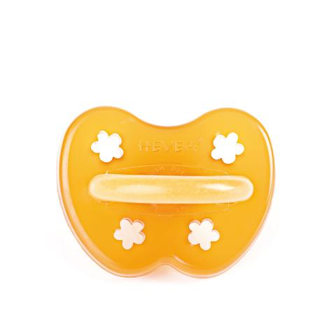 Orthodontic Natural Rubber Pacifier Flower Design