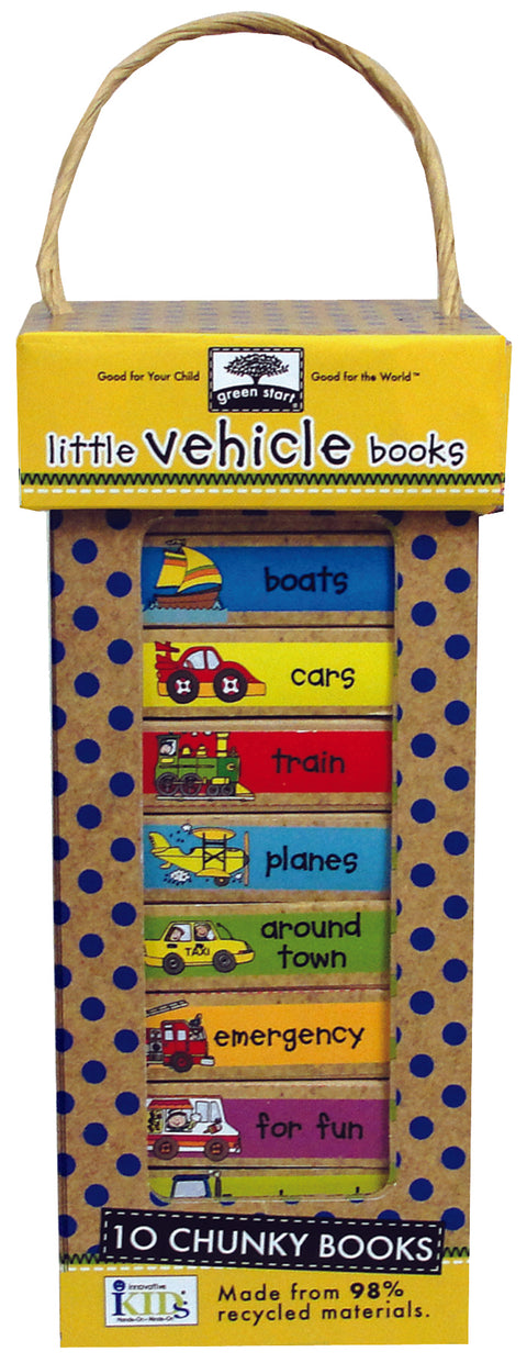 Little Vehicle Book Tower