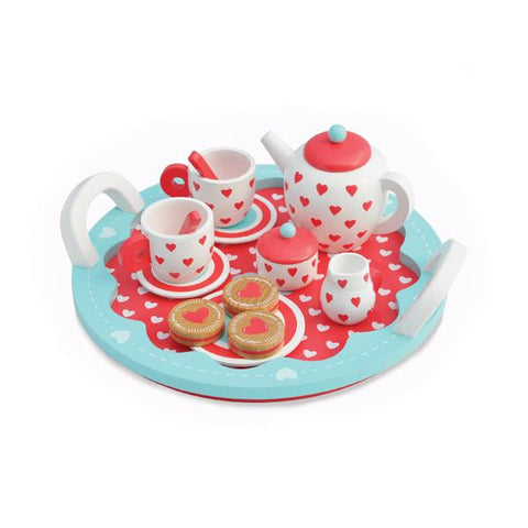 Indigo Jamm Hearts Tea Set - Lil Tulips