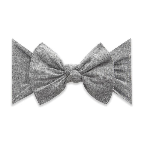 Patterned Knot Heathered Grey