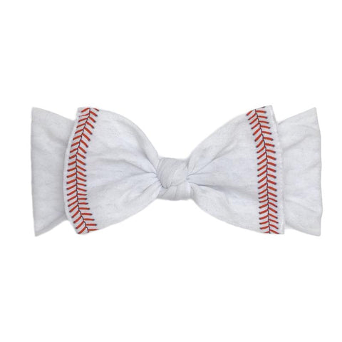Printed Knot Home Run Bow