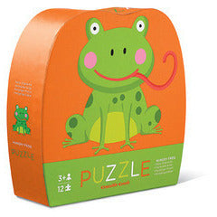 Hungry Frog Puzzle - Lil Tulips - 1