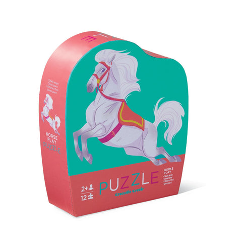 Horse Play 12-pc Mini Puzzle