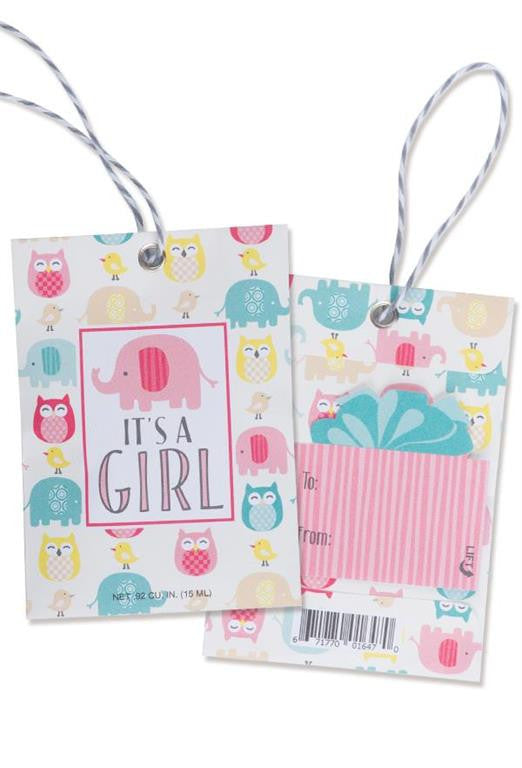 Scented Gift Tag  IT'S A GIRL