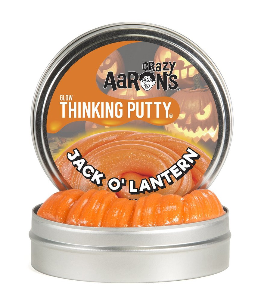 Crazy Aaron's Jack O'Lantern Putty