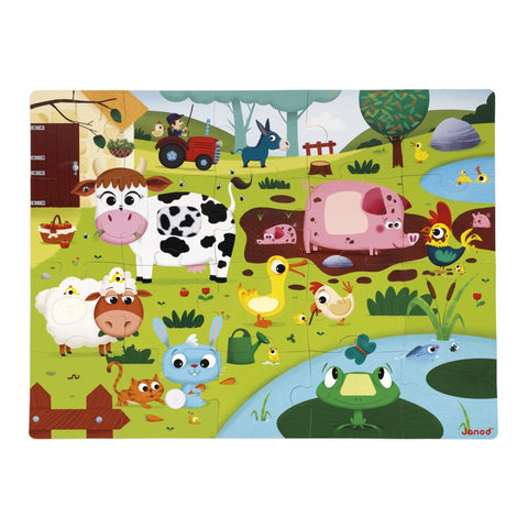 "Tactile Puzzle ""Farm Animals"""