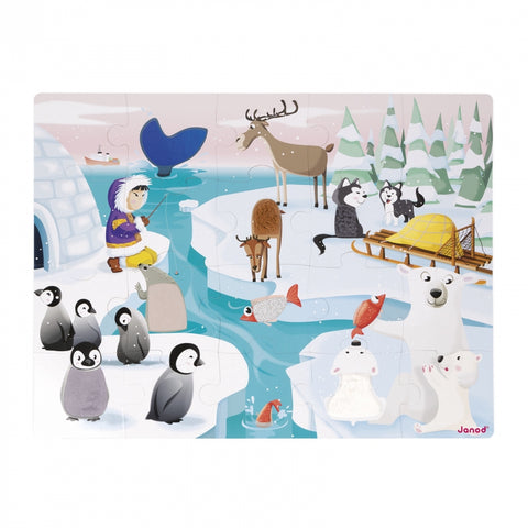 "Tactile Puzzle ""Life On The Ice"""