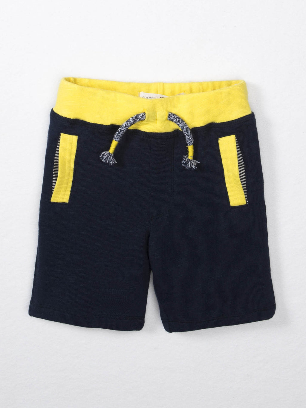 FINAL SALE Infant Boys Kade Shorts Yellow
