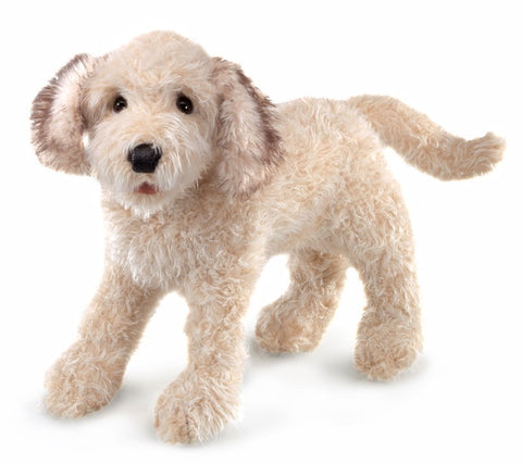 Labradoodle Puppet
