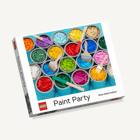 LEGO Paint Party 1000 Piece Puzzle
