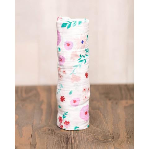 Morning Glory Cotton Swaddle