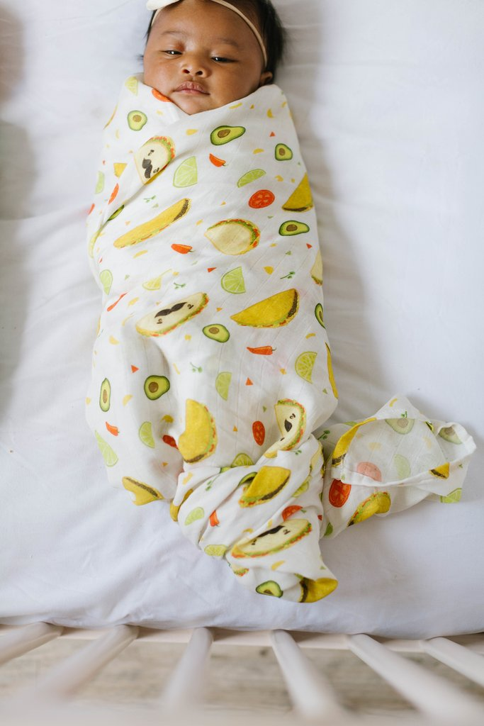 Taco Luxe Muslin Swaddle