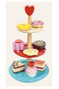 Toy 3 Tier Cake Stand