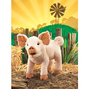 Folkmanis Piglet Puppet - Lil Tulips