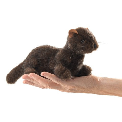 Mini Mink Finger Puppet