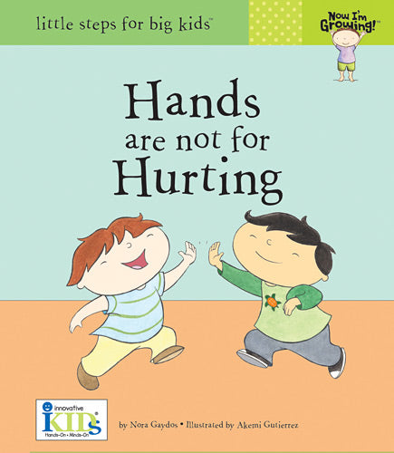 Hands are not for Hurting Book