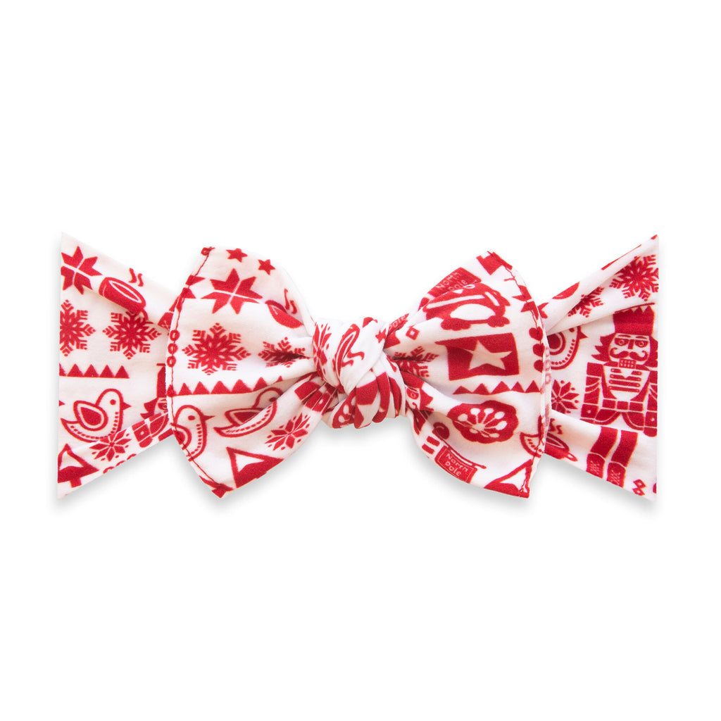Printed Knot Headband Nutcracker