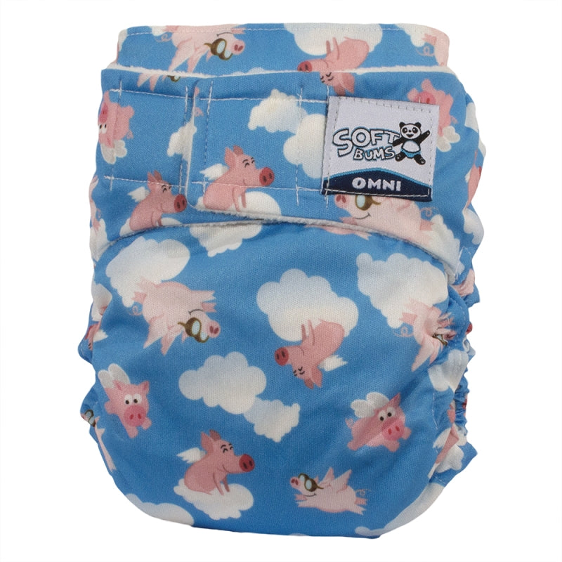 SoftBums Omni Pocket Cloth Diaper [Shell Only]