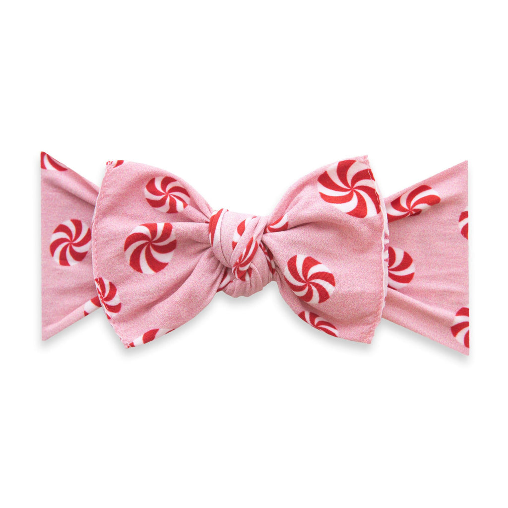 Printed Knot Headband Pink Peppermint
