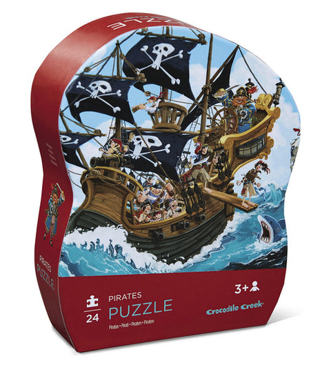 Pirates 24 pc Mini Puzzle