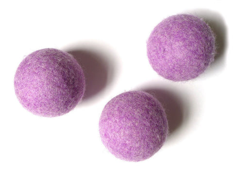 Plum Single Wool Dryer Ball