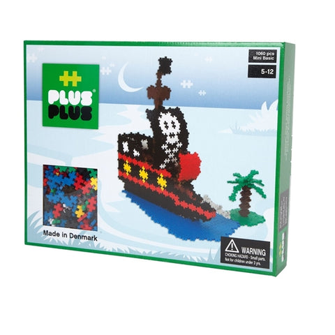 Plus Plus Mini 1060 pc Pirate Ship