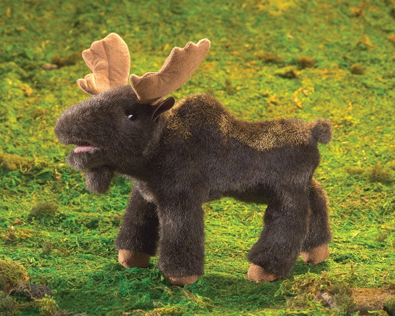Small Moose Puppet