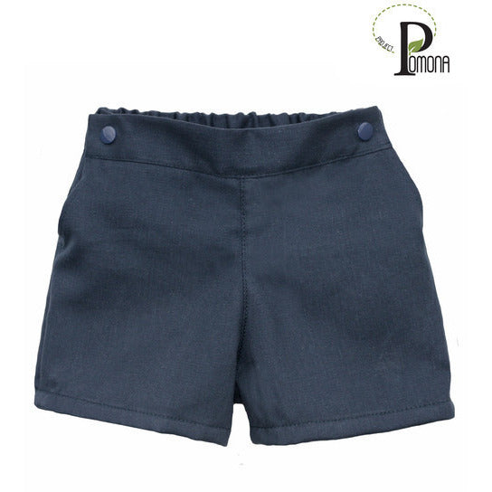 Project Pomona Eco Fit Adjustable Waist Twill Shorts - Lil Tulips