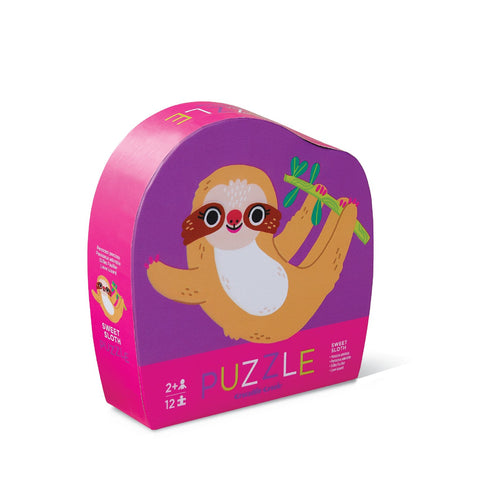 Sweet Sloth 12-pc Mini Puzzle