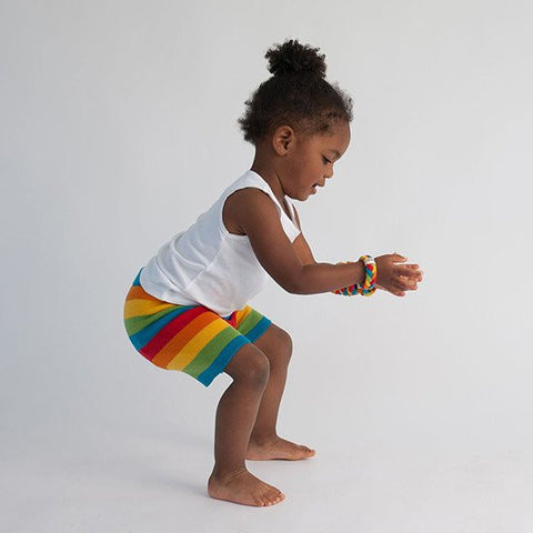 FINAL SALE Rainbow Playshorties