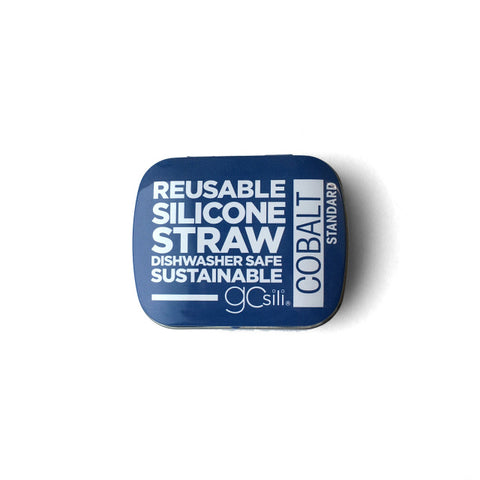 SILICONE STRAW WITH TRAVEL CASE - H20