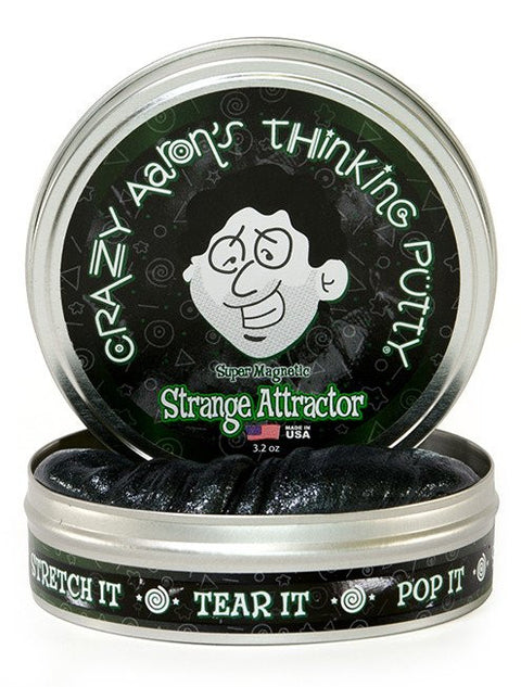 Crazy Aaron's Strange Attractor Super Magnetic Thinking Putty