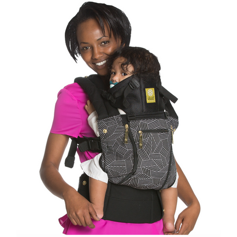 Lillebaby All Seasons Baby Carrier 5th Ave - Lil Tulips