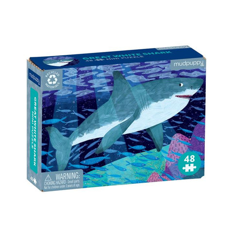 Great White Shark 48 Piece Mini Puzzle